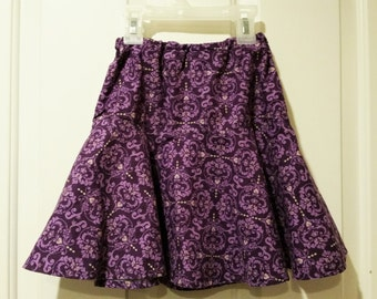 Drop-waist Twirly Skirt