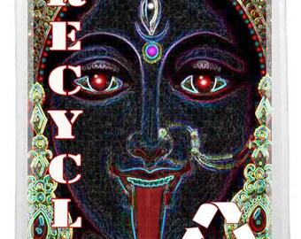 Goddess Kali reusable Shopping bag