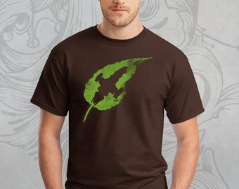 Firefly shirt Serenity Leaf on the Wind Shiny Browncoat shirt