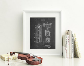 Telephone Booth Patent Poster, London Phone Booth, Phone Booth, Vintage Wall Art, Antique Telephone, Telephone Box, PP1088