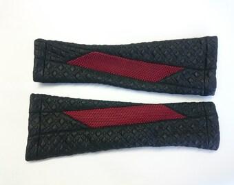 Cyber fingerless gloves S size black arm warmers jersey Sci-fi- N-ARW -Q4 black
