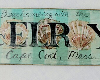 Cape Cod Beach Sign Custom Personalized