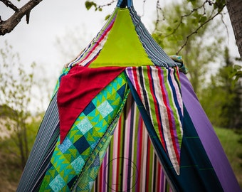 Boy's room decor bed tent Bed canopy teepee