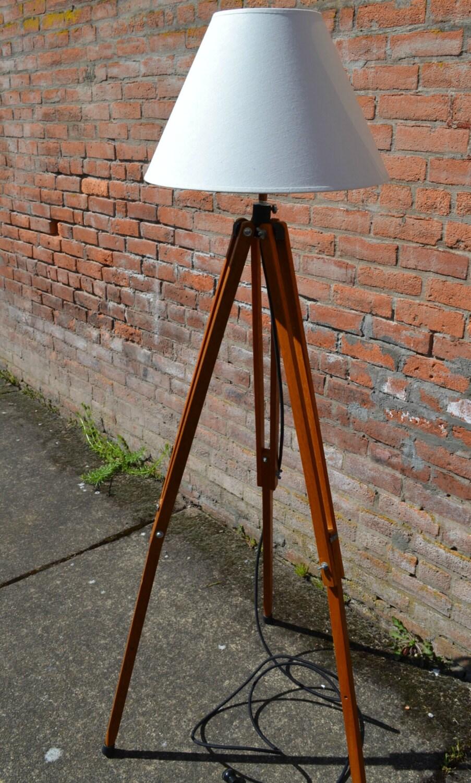 tripod lamp vintage tripod wood tripod lamp tripod floor. Black Bedroom Furniture Sets. Home Design Ideas