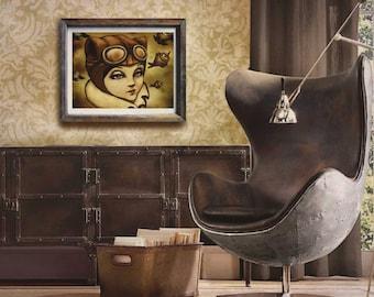 Steampunk Wall Art | Etsy