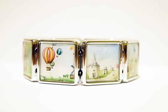 Hot Air Balloon Bracelet from Little Miss Made It