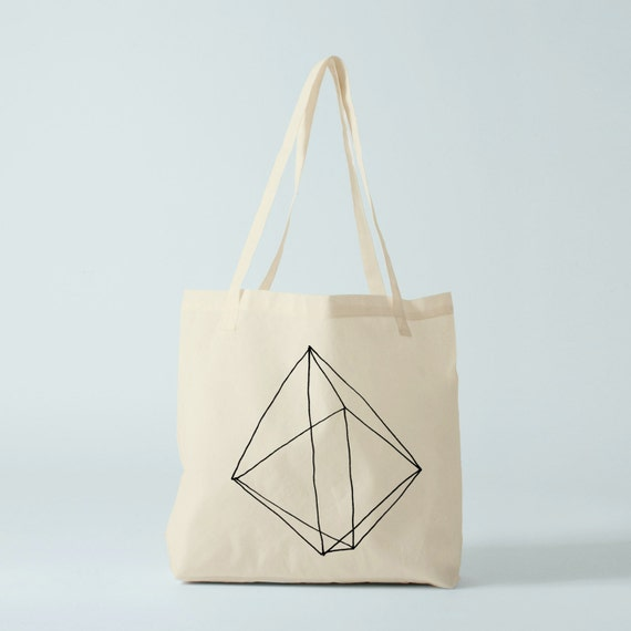 Tote bag Prism, canvas bag, cotton bag, groceries bag, laptop bag, novelty gift, gift for coworker, student bag, graphic bag.