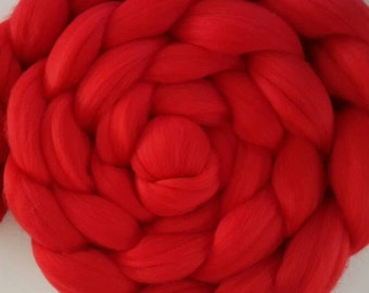 Lolipop Extrafine 16 micron Merino Wool Roving/combed top  - 4 ounces (DHG)