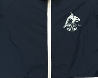 Vintage Sea World Windbreaker Jacket