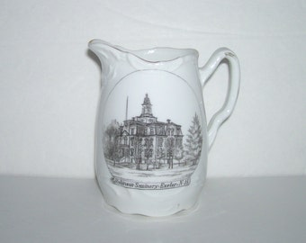 Robinson Seminary Exeter NH Souvenir Pitcher Wheelock Germany