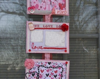 Valentine Wall Photo of Love Scrapbooking
