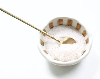 Salt Spoon || Brass