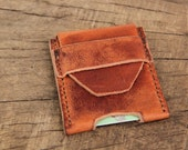 The Cody - Leather Handmade Card Case - Credit Card, Business Card Holder