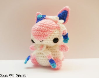 Crochet Sylveon Inspired Chibi Pokemon