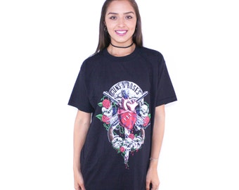 1990 Guns N Roses 90s Tour Promo T Shirt