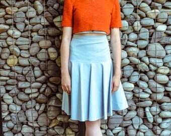 Orange wool top