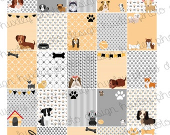 Rescue Dogs 2-in-1 Boxes/Stickers for EC Planners (PRINTABLE)