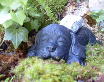 Angel Dog Statue,Retriever Angel Statue,Dog Angel Statue,Labrador Retriever Statue,Mixed Breed Dog Statue,Outdoor Garden Statue,Cement
