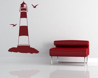 Lighthouse Wall Art Sticker (AS10014)