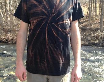 Spiral Tie Dye Shirt Reverse FREE SHIPPING