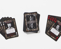 Serial Killer Playing Cards - 54 American killers Poker set / Collectors Item - Free US Shipping
