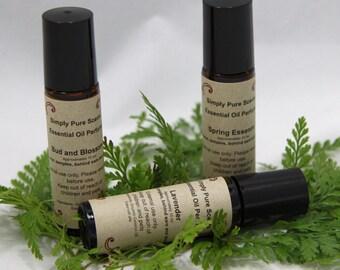 Essential oil perfume - Essential oil Fragrance -  Roll on Fragrance - All natural oil perfume  - Roll on Perfume - Aromatherapy