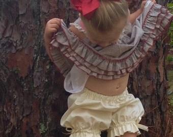 Toddler Bloomer Pantaloons