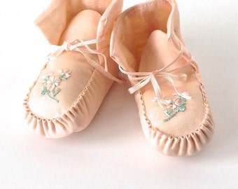 Vintage Baby Booties