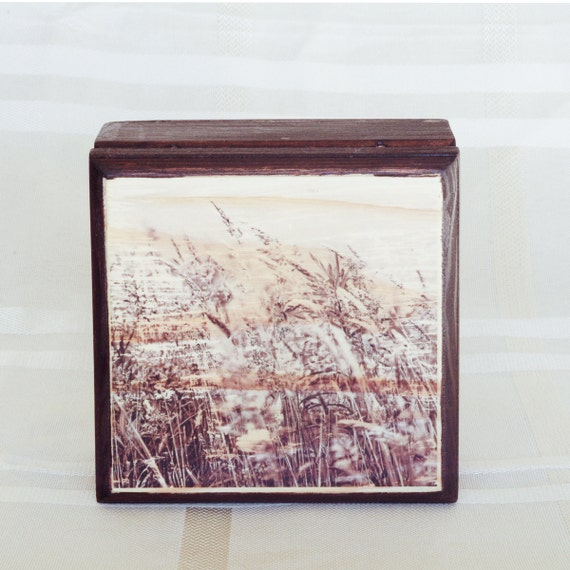Small wooden box rustic wood box gift box wooden by - Small rustic wooden boxes ...