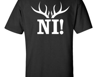 Knights That Say Ni! T-shirt Nee! Python