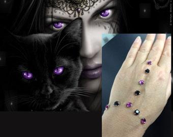 Goth Hand Jewelry