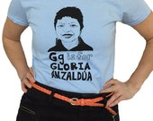 Chicana Shirt Feminist Shirt; G is for Gloria Anzaldúa T-Shirt