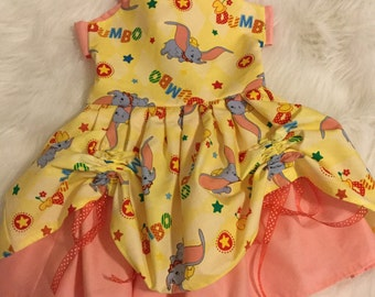Dumbo girls dress, dumbo dress ,disney dress,dumbo girl dress,Disney Dumbo, princess dress, disney dress, handmade dress,