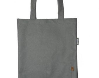 Grey Bag| Gray Shopper| Tote Bag| Women's Bag| Shoulder Bag| Light Grey