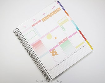 Planner Sampler Kit : Sherbert Theme Planner Stickers