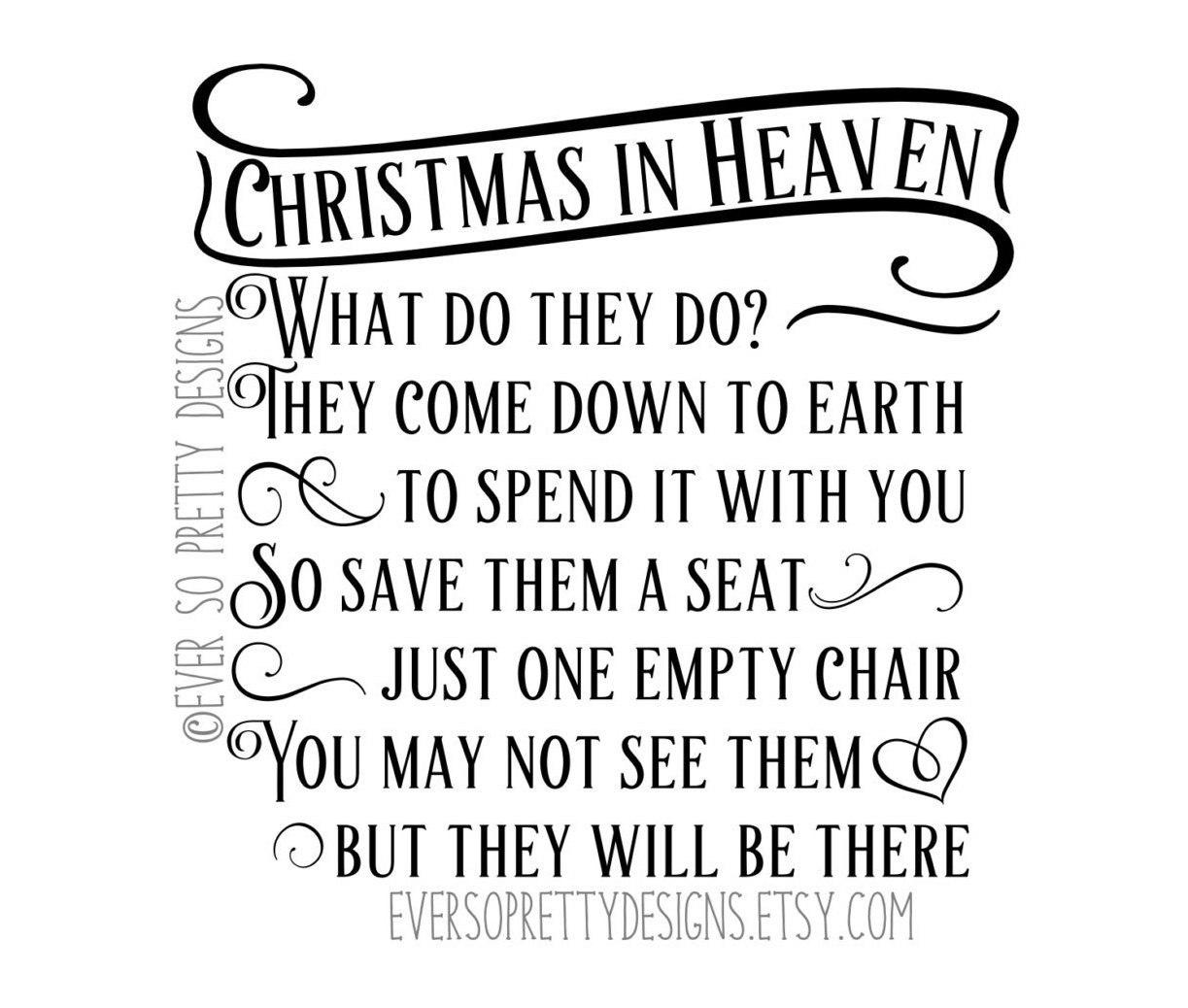 SVG File DXF File Christmas Cut File By EverSoPrettyDesigns