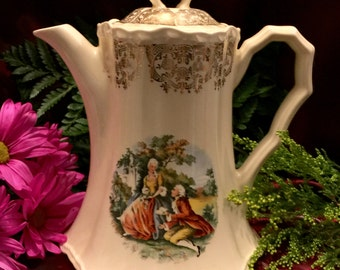 Victorian Tea Pot Etsy