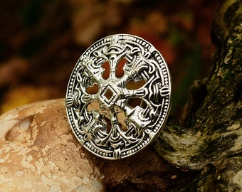 Viking disc brooch from Norway - [07 Br 2 Sch-Nor/N1 C-3]