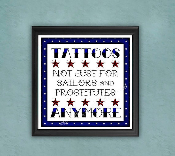 Tattoo artist print quote art tattoo art gift tattoo for Gifts for tattoo artist