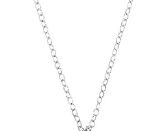 LOVE LISTENS Sterling Silver Necklace
