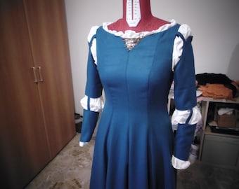 Handmade Merida costume, Merida cosplay