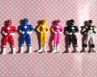 Power Ranger Green And Blue Cake With Action Figures