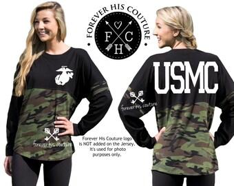 USMC Girlfriend Marine Girlfriend USMC Wife Marine Wife Usmc Mom Marine Mom Marine Sister Usmc Sister Usmc Dad oversize jersey
