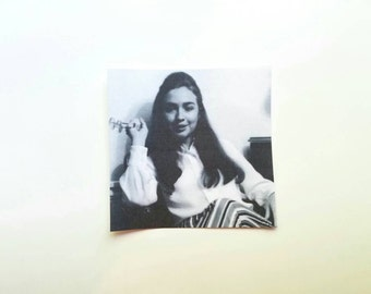 Young Hillary Sticker