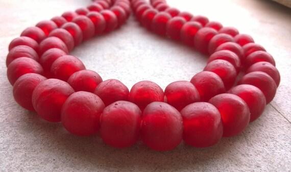 kirsche weihnachten rote afrikanische perlen 15 afrikanische. Black Bedroom Furniture Sets. Home Design Ideas
