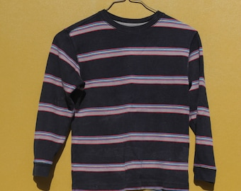 90's Rainbow Striped Old Navy Shirt