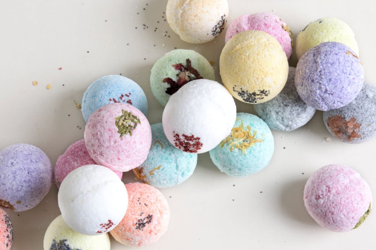 Bridal shower party supplies - 4 Natural Bath Bombs Bath Bomb Party Favors Bridal Shower Favors Bath Bomb