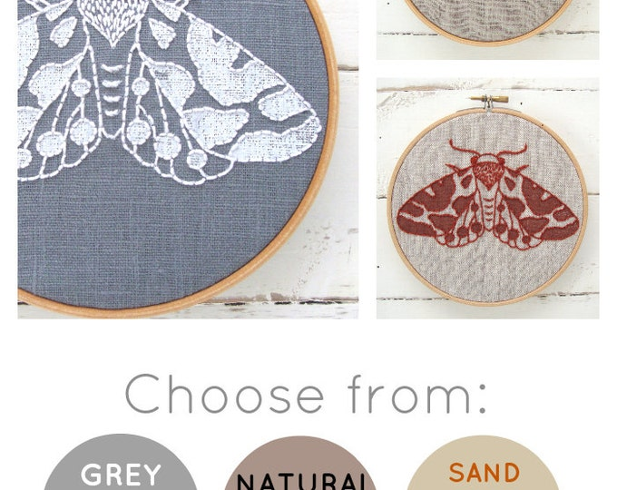 Moth Embroidery Kit {basic}