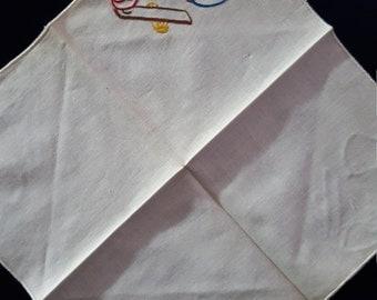 Vintage Chinese Hankerchief