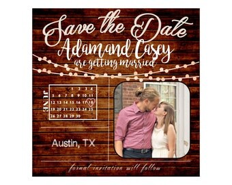 Customized Save the Date - Digital File